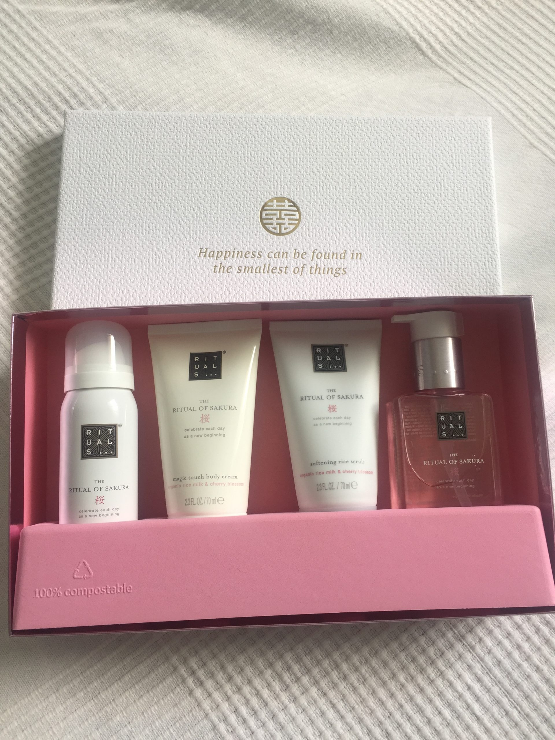 coffret rituals of Sakura