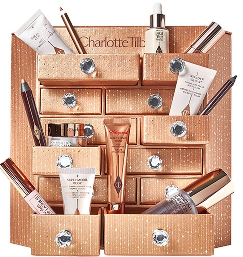 Le calendrier Charlottes's Bejewelled Chest of Beauty treasures