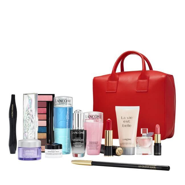 Le beauty box de Lancôme: édition limitée de Noël d'une valeur réelle de 330€