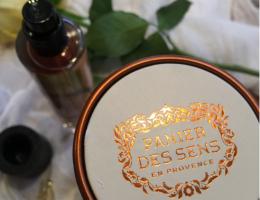 Panier des sens eau de toilette à l'huile essentielle de rose: mon coup de cœur