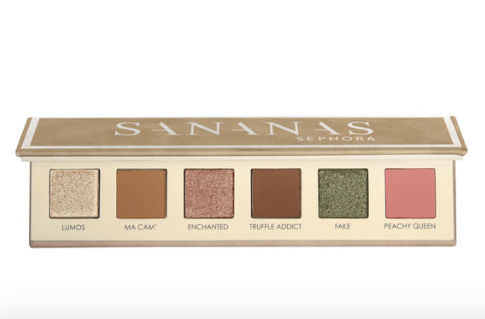 Palette de maquillage sephora collection x sananas